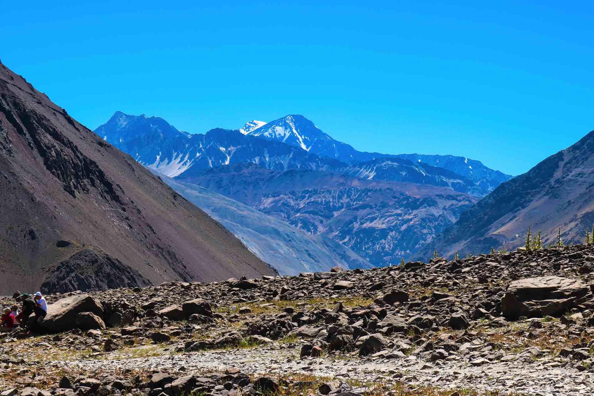 Cerros Cajón del Maipo